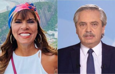 """""""No somos monos"""": la furia de Anamá Ferreira contra Alberto Fernández por su frase sobre los brasileños"""