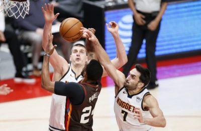 NBA: Campazzo y Denver liquidaron a Portland y están en semifinales de la conferencia Oeste