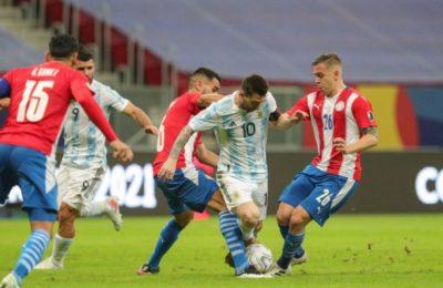 Copa América: Argentina superó a Paraguay y se aseguró un lugar en los 4tos de final