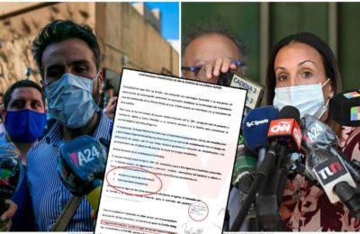 Los documentos que confirman que Leopoldo Luque y Agustina Cosachov no pidieron la internación domiciliaria de Diego Maradona