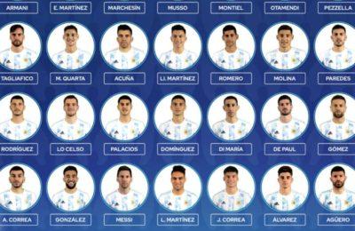 La AFA anunció la lista definitiva de la Copa América con Julián Álvarez en lugar de Lucas Alario