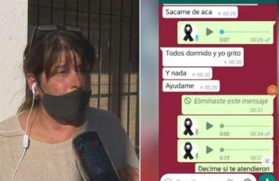"""Una mujer denunció que dejaron morir a su hija enferma de coronavirus en un hospital de Río Cuarto: """"Ayudame mamá"""""""