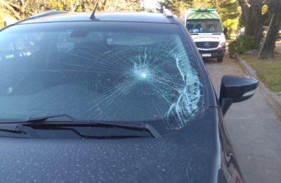 Un ciclista fue atropellado por un auto en 14 de julio y 3 de febrero