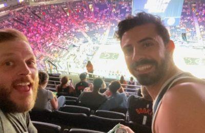 La vuelta a la normalidad en los estadios de la NBA: el bahiense que siguió de cerca a Campazzo