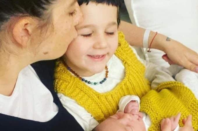 Juana Repetto mostró el primer encuentro de Toribio con su hermano recién nacido