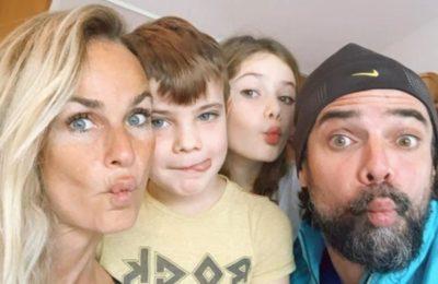 Sabrina Rojas y Luciano Castro se mostraron unidos en el cumpleaños de su hija Esperanza