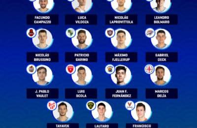 Selección Mayor de básquetbol: los 15 convocados por el sueño olímpico