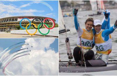 Todo listo para la apertura de los Juegos Olímpicos: Lange y Carranza, los abanderados argentinos en Tokio