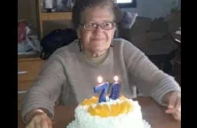 Buscan a una mujer de 71 años que se fue ayer de su casa