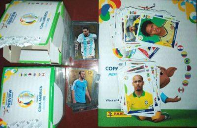 Insólito robo: un adolescente se escapó de un kiosco con $6.000 en figuritas y el álbum de la Copa América