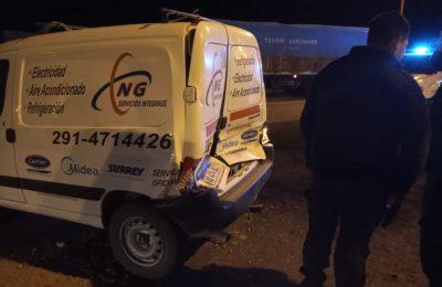 Accidente en Grumbein: sin heridos