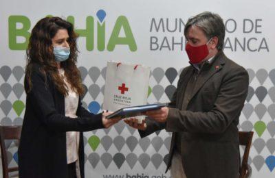 Buscan reinstalar la sede de la Cruz Roja en Bahía Blanca