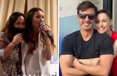 """Luciana Pizzolorusso, la madrina de la hija de Pampita, se enteró en vivo del nacimiento: """"Esta bebé es todo"""""""
