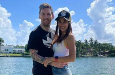 """Lionel Messi se dio un permitido en sus vacaciones en Miami, que incluyó un """"palito"""" para Cristiano Ronaldo"""