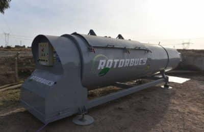 Se instaló sistema de última tecnología para compostaje en el relleno sanitario