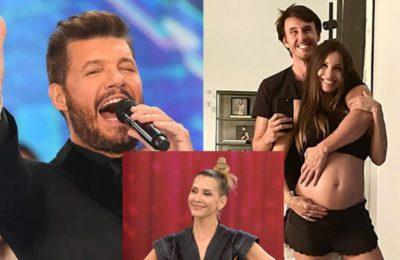 """Marcelo Tinelli felicitó Pampita por el nacimiento de su hija y anunció su reemplazo en La Academia: """"Estamos felices"""""""