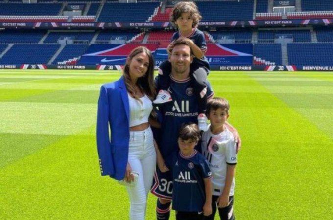 Lionel Messi y Antonela Roccuzzo ya tienen casa en París, pero no lograron cumplir uno de sus principales deseos
