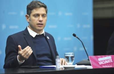 Tras el cambio en la Nación, Kicillof le toma juramento a los nuevos ministros del Gobierno bonaerense