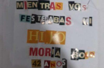 """""""Mientras vos festejabas, mi hijo moría solo"""": la historia detrás del mensaje que una votante le dejó a Alberto Fernández en la urna y se volvió viral"""