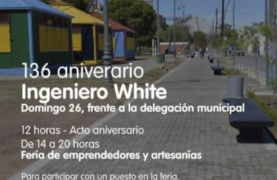 Acto y actividades por el aniversario de Ingeniero White