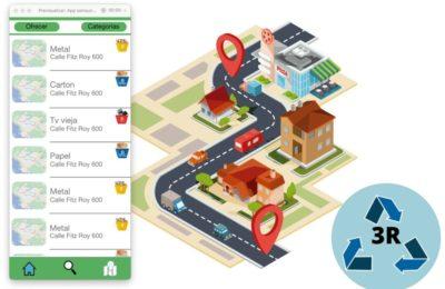 «3 R» la app diseñada por Infinito por Descubrir para reducir la contaminación y fomentar el reciclado