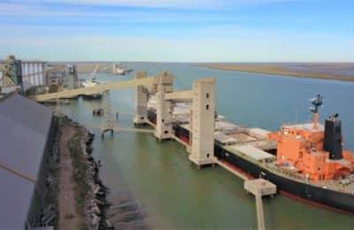Nuevo récord de exportación en el Puerto de Bahía Blanca