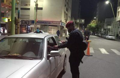 Operativo policial por disturbios en un boliche céntrico