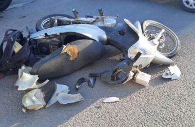 Murió el motociclista accidentado esta mañana en Láinez y Juan Manuel de Rosas