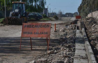 Comenzó la obra de pavimentación de calle Cambaceres