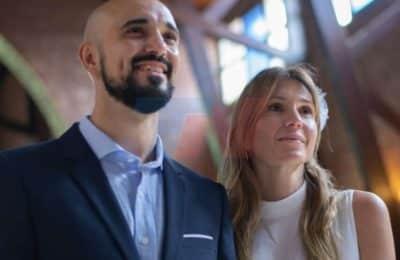 Abel Pintos se casó en secreto: las fotos oficiales de la ceremonia religiosa