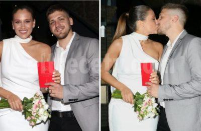 Barbie Vélez y Lucas Rodríguez se casaron por civil: las fotos de los novios