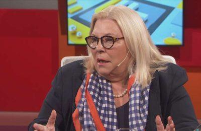 """Elisa Carrió, sobre el regreso de Aníbal Fernández al Gabinete: """"Es como la vuelta de un monstruo alicaído"""""""