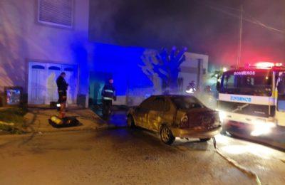 Secaba ropa cerca del calefactor y se prendió fuego la casa