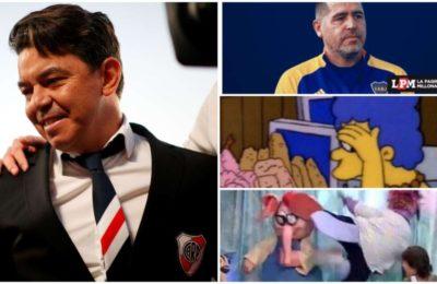 Los memes se burlaron de Boca tras el triunfo de River: de la corbata de Gallardo a la actuación de Rossi