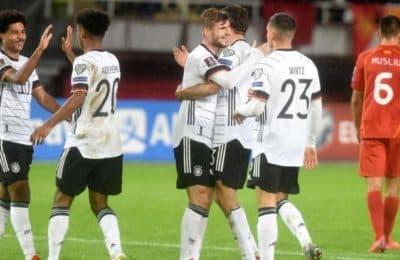 Alemania es la primera selección clasificada para el Mundial de Qatar 2022