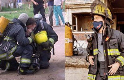 Coraje, valentía y vocación: cómo es el trabajo de un bombero voluntario frente a una tragedia