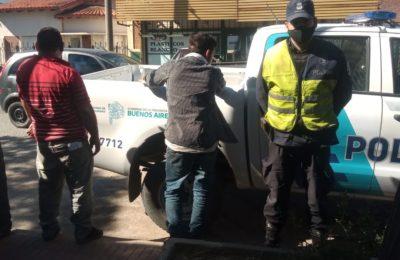 Infracción de tránsito e intento de coima: por «salvar al nene» padre e hijo detenidos