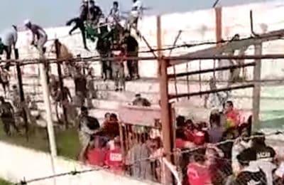 Liga del Sur: tras los disturbios, dieron por perdido el partido a Huracán y Bella Vista