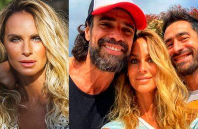 Sabrina Rojas publicó una sorpresiva foto junto a Luciano Castro y Tucu López: «Familia ensamblada y amo que sea así»