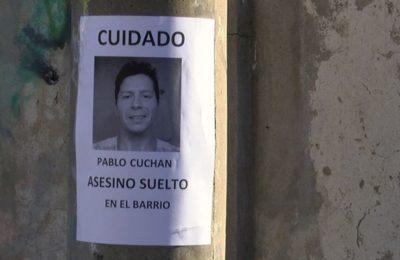 Repudio a Cuchán en los barrios Pacífico y Kilómetro 5